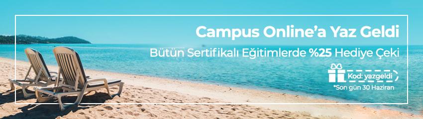 Campus Online'a Yaz Geldi!