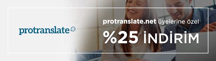 protranslate.net üyelerine öze!